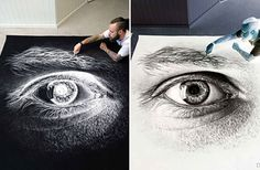 When This Artists Salt Drawings Are Inverted Something Amazing Is Revealed - BlazePress