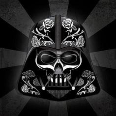 Darth Vader Dia de los Muertos