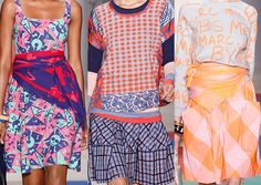 Marc by Marc Jacobs SS2013-Mix Matched Prints / Maasai-Inspired Checks / Gingham Mixes / Urban Graphics