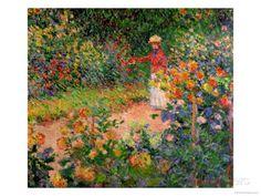 Garden at Giverny, 1895 Claude Monet