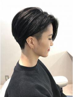 ヘアアトリエ ディアローグ 下北沢(Hair Atelier DEAR LOGUE) ジェンダーレスな前下がりショート