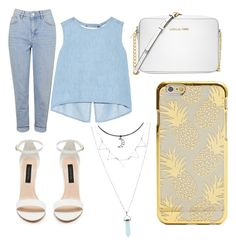 """""""comida !!"""" by yarlin-perez on Polyvore featuring Topshop, Steve J & Yoni P and Michael Kors"""
