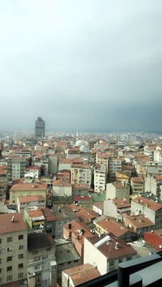 Like a bird. Istanbul.