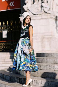 Vanessa Jackman: Paris Fashion Week SS 2013....Natasha