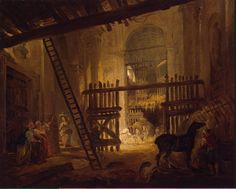 Robert_Hubert-ZZZ-Stable_in_Ruins_of_the_Villa_Giulia.jpg (1484×1190)