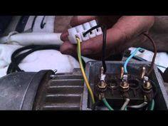 COMO TRANSFORMAR MOTOR TRIFÁSICO A MONOFÁSICO - YouTube Electrical Installation, Diy Electronics, Ham Radio, Electrical Engineering, Arduino, Youtube, Stone Patios, Brickwork, Long Island