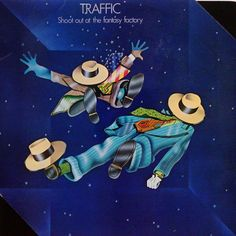 TRAFFIC - Shoot Out At The Fantasy Factory (Island ILPS 9224) Vinyl | Music