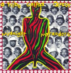 A Tribe called Quest. Midnight Marauders (1993) Midnight Marauders, The Marauders, Kinds Of Music, Award Tour, Steve Biko, Rap Album Covers, Iconic Album Covers, Lps, Tribe Called Quest