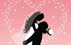 bride and groom silhouette - Google Search