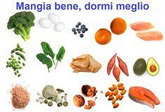 Mangia bene, dormi meglio: aiutarsi col cibo e non con i farmaci. consigli su alimenti e stile di vita che promuovono un naturale e sano riposo