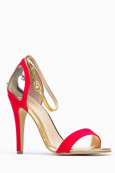 Liliana Single Sole Metallic Plated Red Ankle Strap Heels @ Cicihot Wedges Shoes Store:Wedge Shoes,Wedge Boots,Wedge Heels,Wedge Sandals,Dress Shoes,Summer Shoes,Spring Shoes,Prom Shoes,Women's Wedge Shoes,Wedge Platforms Shoes,floral wedges
