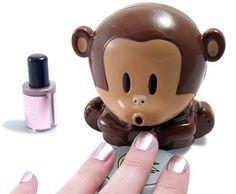 The Blow Monkey Nail Dryer. Hahaha