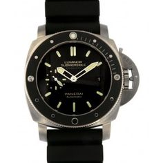 Distinctive hand-picked range of luxury Swiss men's wrist watches. Panerai Automatic, Automatic Watches For Men, Panerai Luminor 1950, Panerai Watches, Gold Watches Women, Luxury Watches For Men, Panerai Luminor Submersible, Black Rubber Bands, Luxury Watch Brands