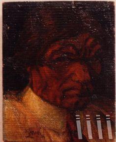 Kjarval - Sjalfsmynd/ Self-Portrait