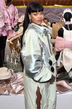 Rihanna at the FentyXPuma Pop Up Shop in LA