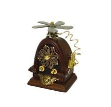 Dollhouse Handcraft Antique Style Steampunk Table Radio Doll House Miniatures