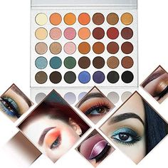 Realistic Beauty Glazed 2018 New 14 Colors Eye Make Up Eyeshadow Makeup Glitter Shimmer Matte Palette Cosmetic Long-lasting Easy To Wear Strong Resistance To Heat And Hard Wearing Beauty Essentials