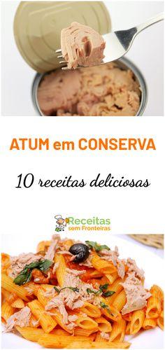 10 receitas deliciosas para fazer com uma simples lata de atum