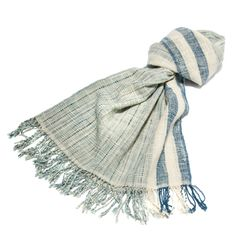 Natural Woven Scarves
