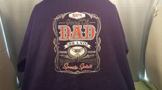 Good Ol Dad Brand World Famous Sport Spirit  T Shirt 3 XL Blue NCAA #NCAA #GraphicTee