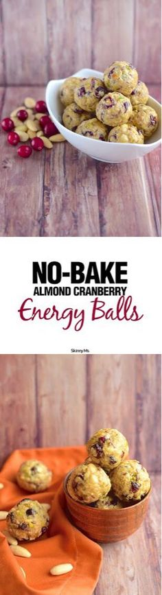 No oven necessary! These no-bake snacks are the perfect boost of energy, pre or post workout! #healthysnacks