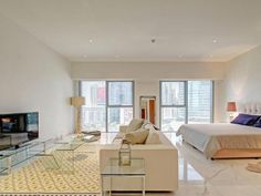 modern studio apartment near central park