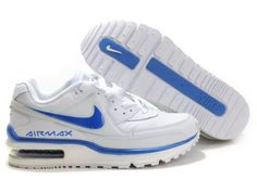 New Arrive Nike Air Max Ltd 2th II Second Men White Skyblue Running Shoes