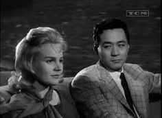 Bridge to the Sun is a 1961 film, directed by Etienne Périer, starring Carroll Baker and James Shigeta, and based on the 1957 autobiography Bridge To The Sun by Gwendolen Terasaki James Shigeta, Robert Stack, Carroll Baker, Actor Secundario, Movie Stars, Movie Tv, Theatre, Retro Vintage, Bridge