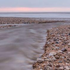 River Char at Charmouth beach Dorset. #ukcoastwalkPhoto: Quintin Lake www.theperimeter.uk