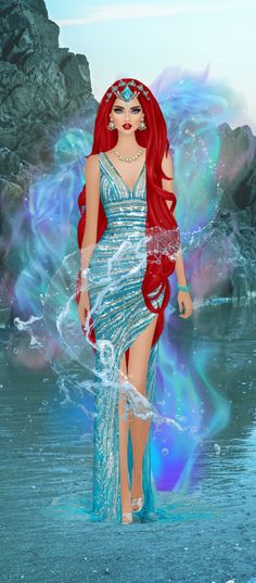 Red Hair Woman, Fantasy Story, Covet Fashion, Images, Disney Characters, Fictional Characters, Creations, Barbie, Wonder Woman