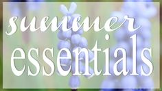 Kiia Innanmaa: SUMMER ESSENTIALS