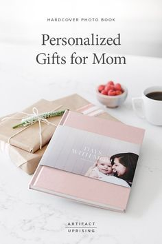 Super Ideas For Design Cover Photobook Artifact Uprising Coffee Table Book Design, Baby Photo Books, Baby Books, Hardcover Photo Book, Memories Photo Album, Artifact Uprising, Personalized Gifts For Mom, Memory Album, Best Book Covers