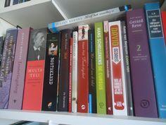 Bookshelf at home