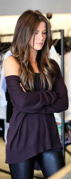 Purple oversized sweater. Need it need it