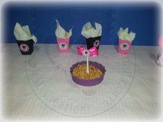 contenitori patatine-popcorn Barbie https://www.facebook.com/aedcreazioni  http://dodaricci.blogspot.it/