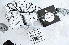 My Attic: 3 Ways to Wrap #1, Monochrome