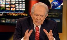 Pat Robertson Says People Who Oppose Trump Are Revolting Against God