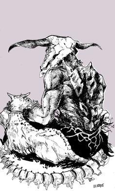 1501011 by chunderella on DeviantArt Zombie Monster, Dark Souls Art, Arte Cyberpunk, Happy Soul, Bloodborne, Soul Art, Neon Genesis Evangelion, Dark Fantasy Art, Horror Art