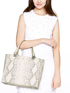 madison langley court luxe hannah, off white snake