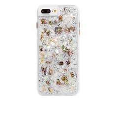 Mother Of Pearl Karat iPhone 7 Plus Case Back