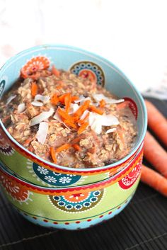 Eat Good 4 Life » Carrot cake breakfast oatmeal