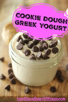 Cookie Dough Greek Yogurt - 21 Day Fix Treat