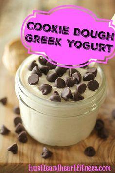 Cookie Dough Greek Yogurt - 21 Day Fix Treat