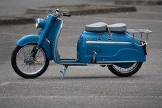 1956 Manurhin Scooter. France.