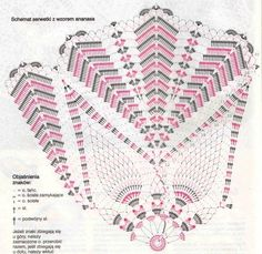 Crochet and arts: napkin Crochet Circles, Crochet Doily Patterns, Crochet Diagram, Crochet Chart, Thread Crochet, Filet Crochet, Crochet Doilies, Crochet Home, Love Crochet