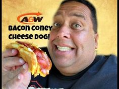 A&W® Bacon Coney Cheese Dog REVIEW!