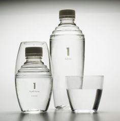 L'eau réinventée par des packaging originaux   http://blog.shanegraphique.com/packaging-eau/