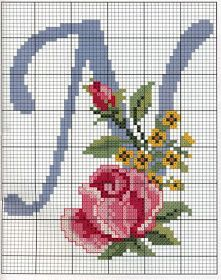 Schemes embroidery alphabet (not in English, but I may still be able to use… Cross Stitch Alphabet Patterns, Embroidery Alphabet, Cross Stitch Letters, Cross Stitch Rose, Cross Stitch Flowers, Cross Stitch Charts, Cross Stitch Designs, Embroidery Patterns, Cross Stitching