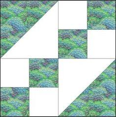 Jewel Box Block Jewel Box Swap/Scrap Vintage Quilt Pattern (Free!)