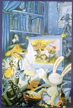 steve purcell | Sam and Max.